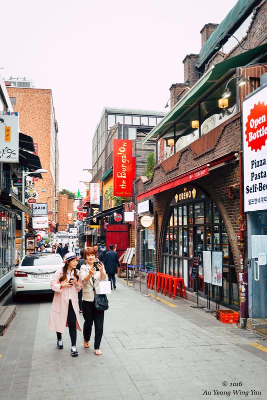 Seoul 2016: Street Of Itaewon