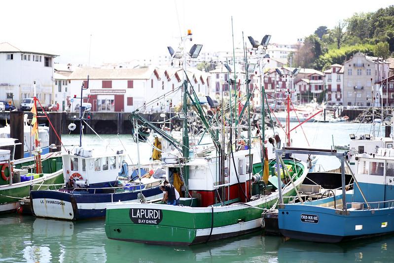 Bateaux port de Saint Jean de Luz
