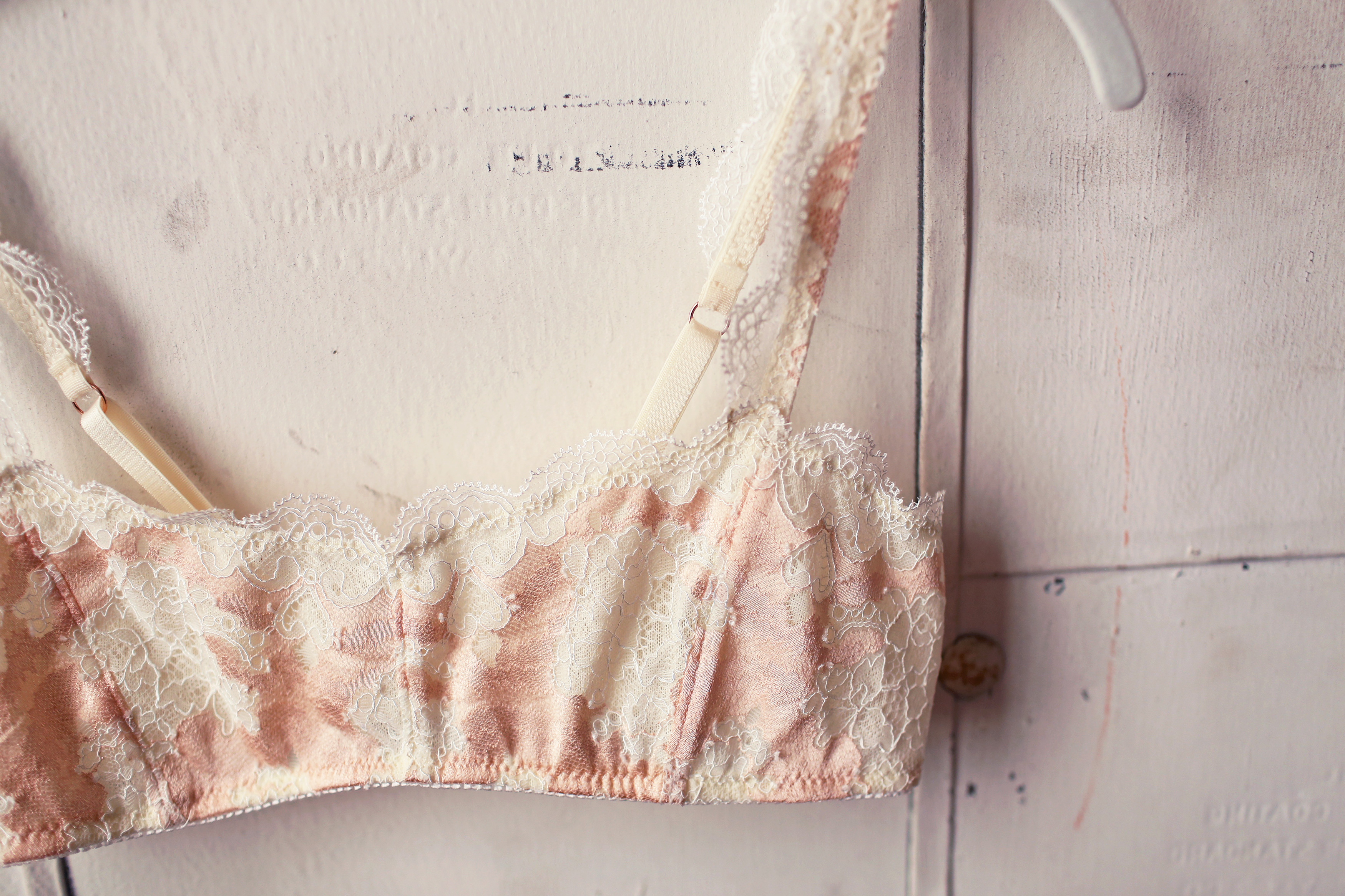 DIY Self-Drafted Balconette Bralette Bra Making Tailor Made Shop