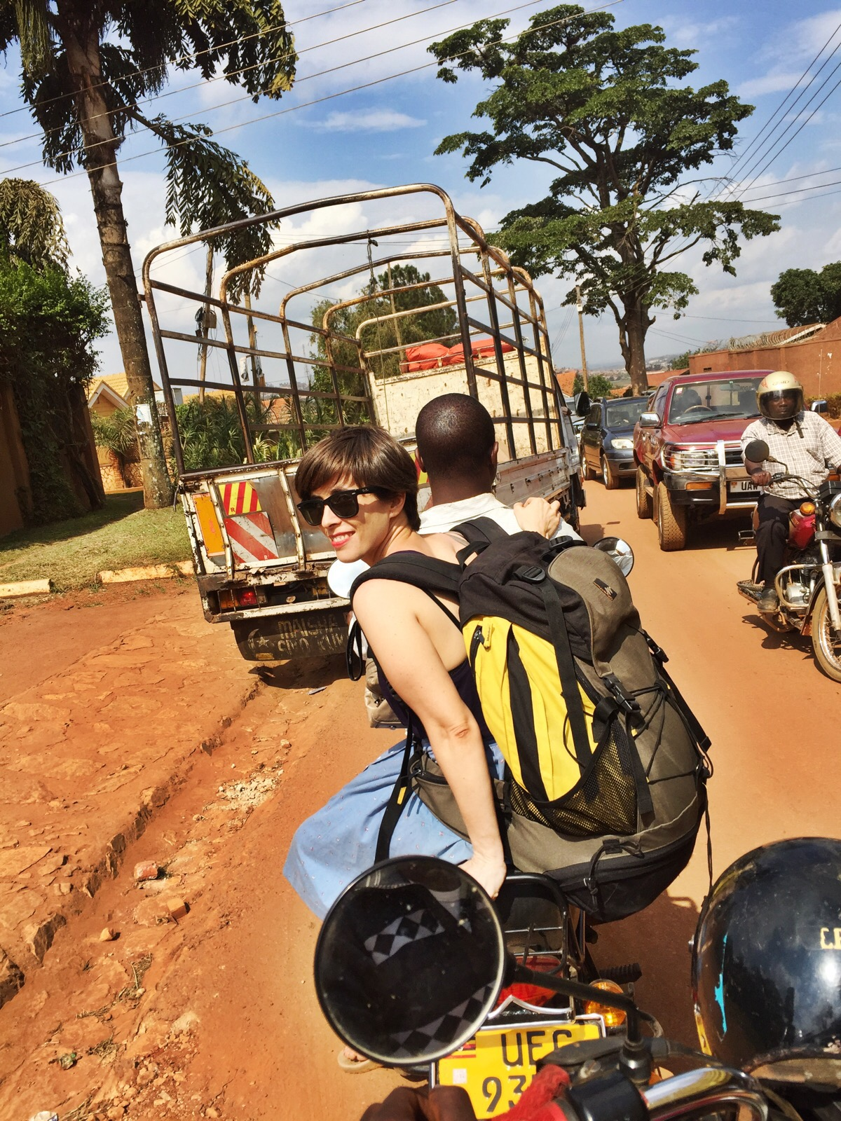 East africa backpackers