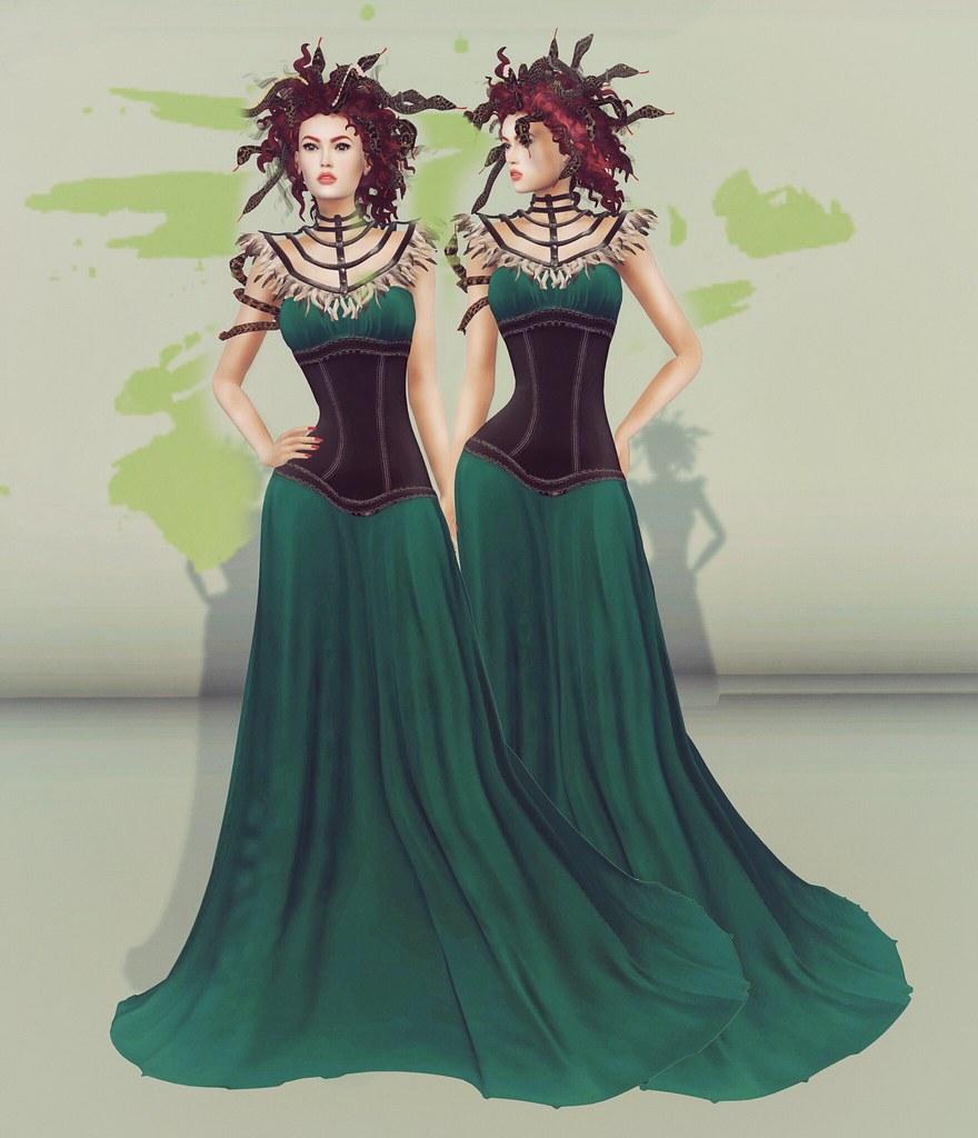 GIA Style Card// Medusa Look