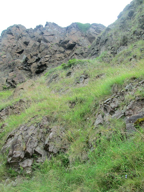 Salisbury  Crags rocks