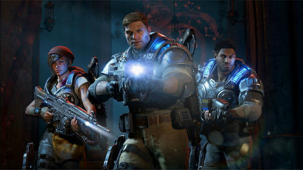 8 Minutes of Gears of War 4 DeeBee Campaign Gameplay