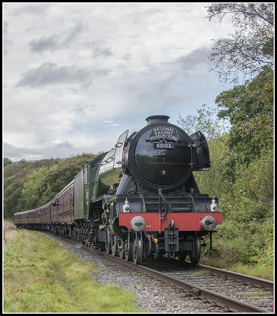 The Flying Scotsman (Recently on the East Lancs Railway) 29694514174_3b030e87c3_b