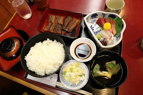 一富士鰻魚飯