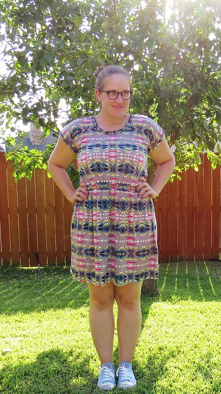 Tribal Dress Refashion - After