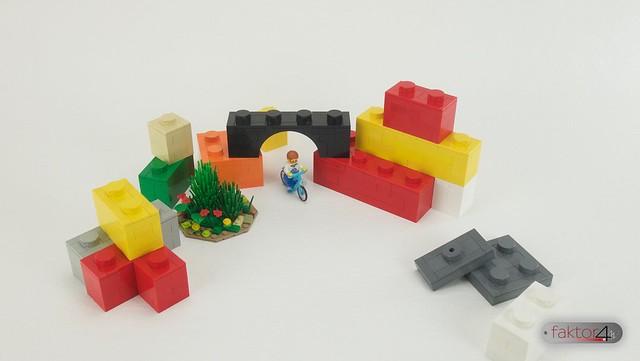 A ride in the bricks