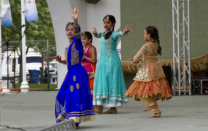 east indian dancers