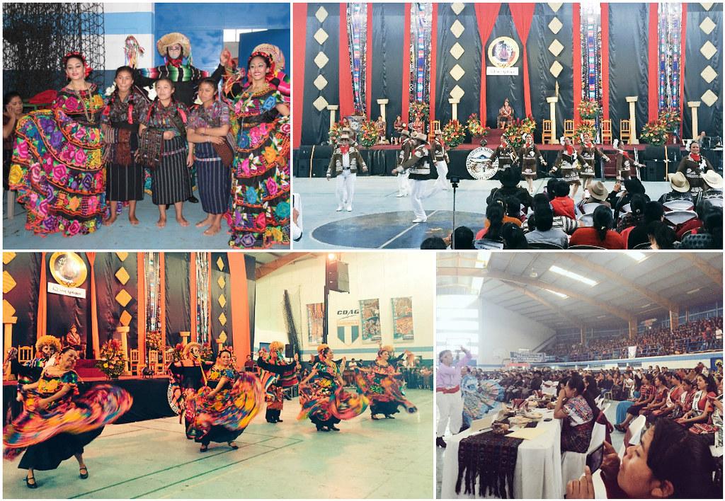 Danza y tradiciones de México y Guatemala en evento indígena de Sololá