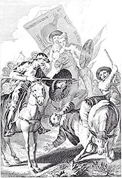 16i29 Aventura del rebuzno, Francisco de Goya, ca. 1780 copy