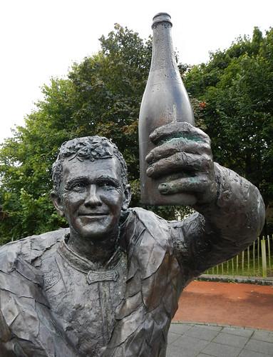 Dunlop Memorial in the Antrim Glens, Ireland, UK