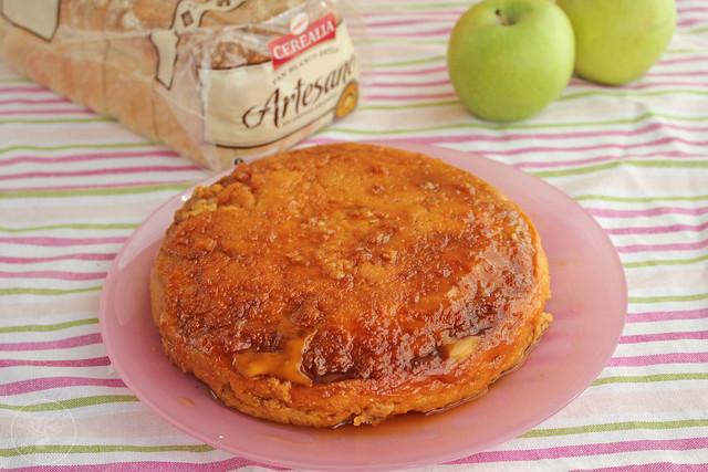 Tarta manzana y pan de molde micrrondas www.cocinandoentreolivos.com (4)