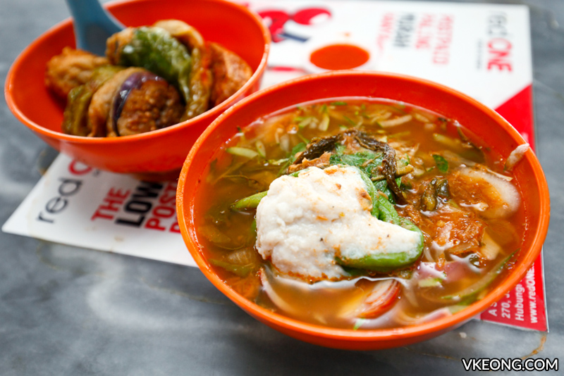 Zhong Kei Asam Laksa Yong Tau Fu - Ipoh Food