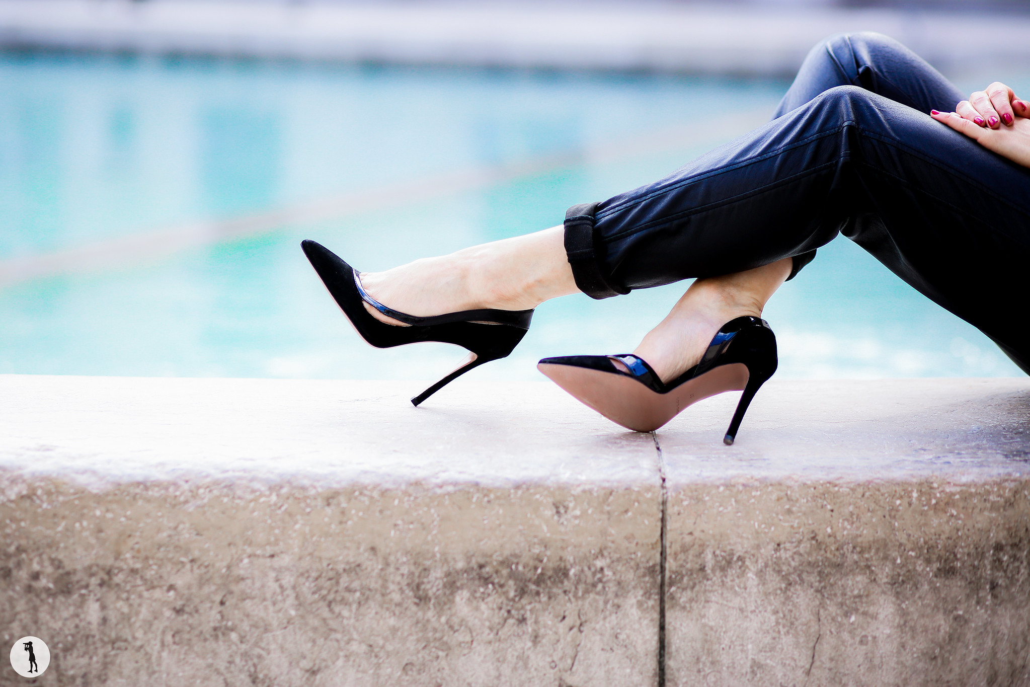 Photoshoot: Erin Adamson shoes, Paris.