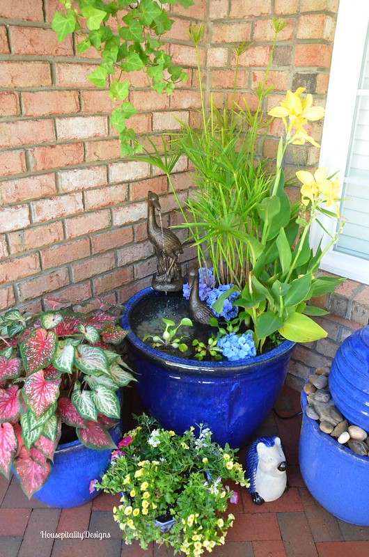 Garden Container Pond/Fountain - Housepitality Designs