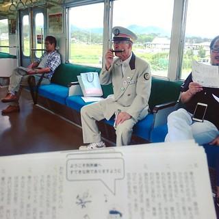 上田電鉄之大家來歌唱 v(^_^v)♪