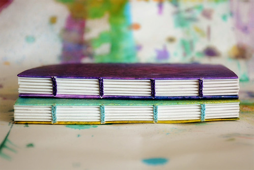 purple and green books-2