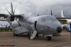 011 - S-009 - Polish Air Force - CASA C-295M - Fairford RIAT 2012 - Steven Gray - IMG_1972