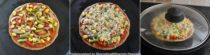 How to make Chapati Pizza - Step6