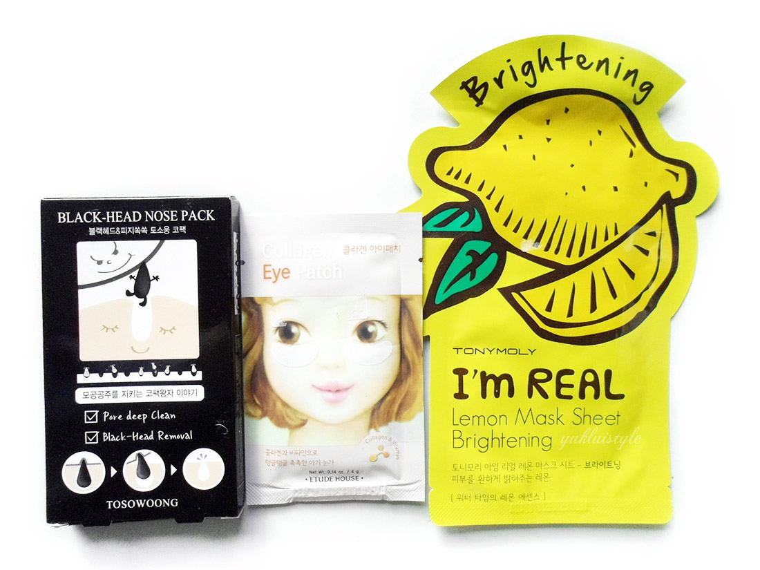 YesStyle Top 10 Must Try Korean Beauty Box etude house tony moly tosowoong