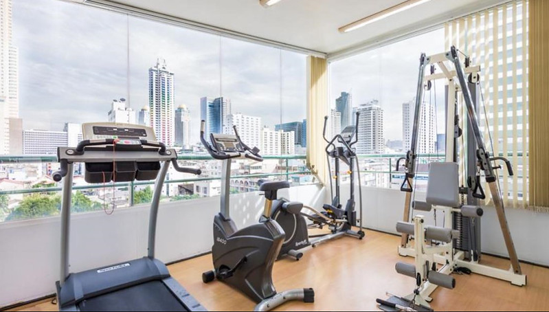 check in mayfair bangkok gym