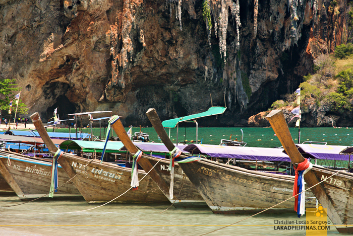 Krabi Four-Island Hopping Tour Phra Nang Cave Beach
