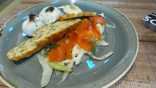 salmon and fennel