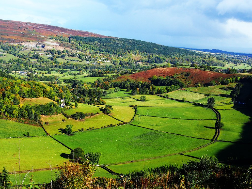 Llangollen Landscape, Wales