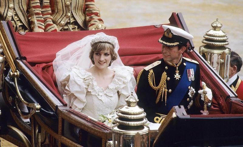Фото | Свадьба принцессы Дианы и принца Чарльза