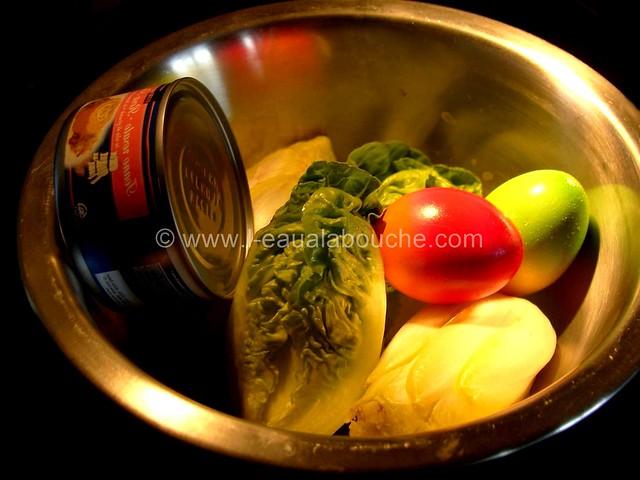 Salade Mêlée au Thon © Ana Luthi Tous droits réservés 001