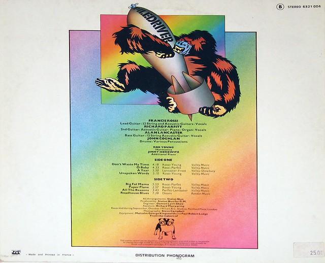 """Status Quo Piledriver Gatefold 12"""" vinyl LP"""