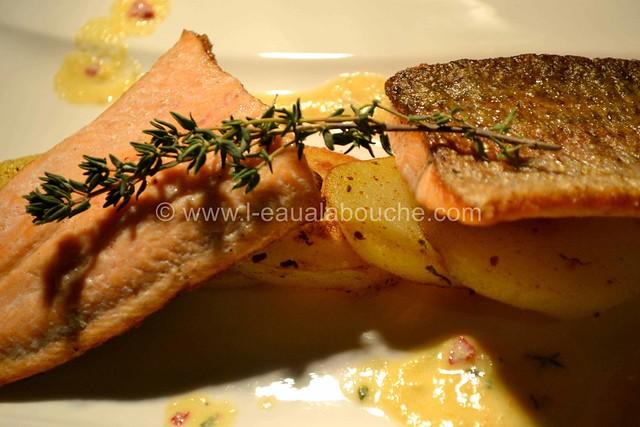 Filet de Truite Grillée sur Peau  © Ana Luthi Tous droits réservés 020