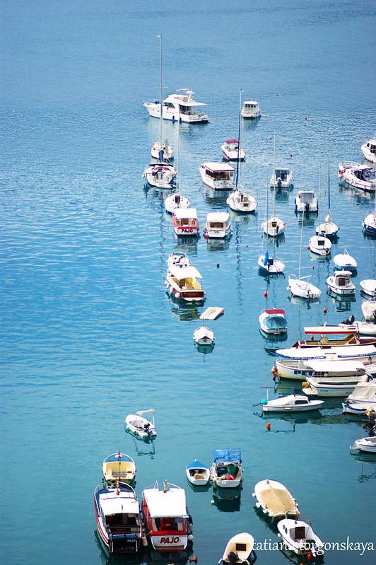 Лодки в порту