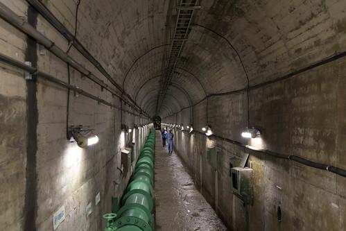 五十里ダム 監査廊