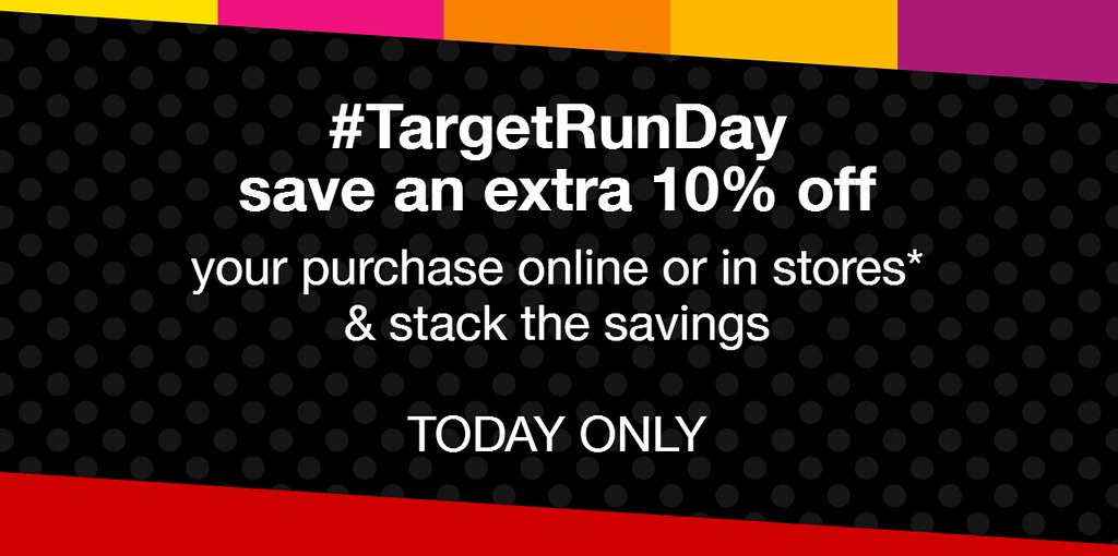 Target Run Day Sale