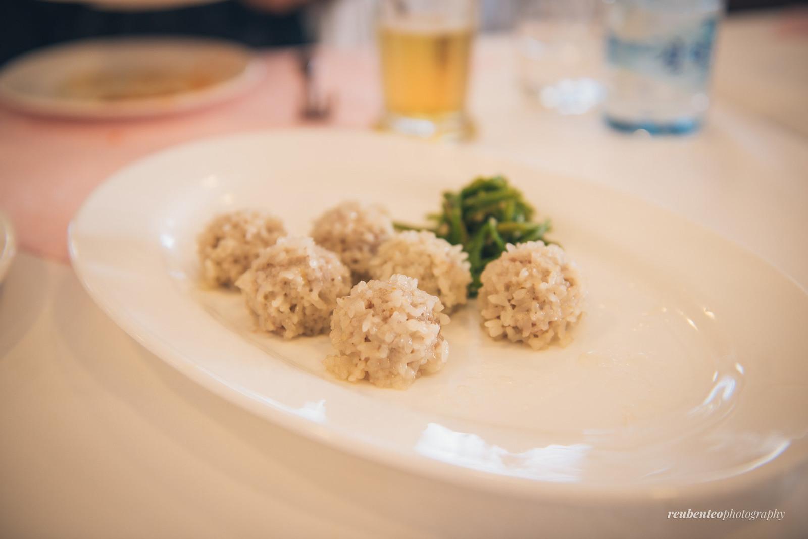 Rice Meatball