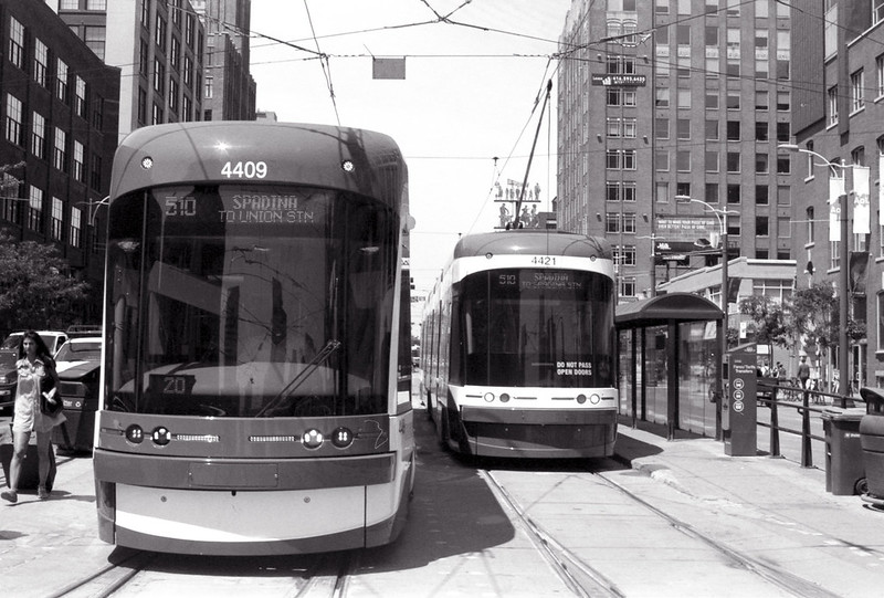 A Pair of New Street Cars_