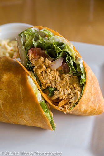 "Buffalo ""Chicken"" Wrap"