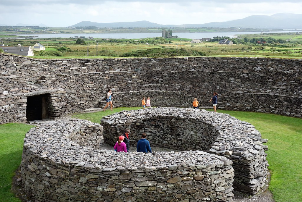 Cahergal Stone Fort, West of Ireland.