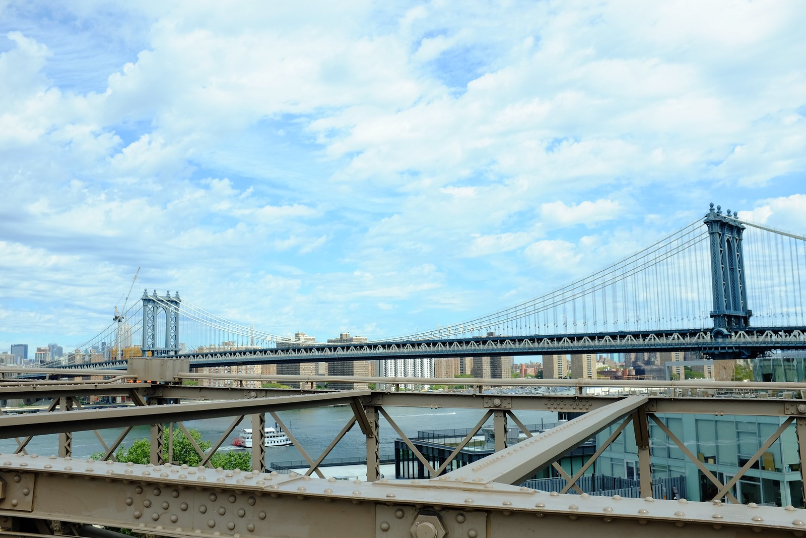 The Brooklyn Bridge by FUJIFILM X100S.