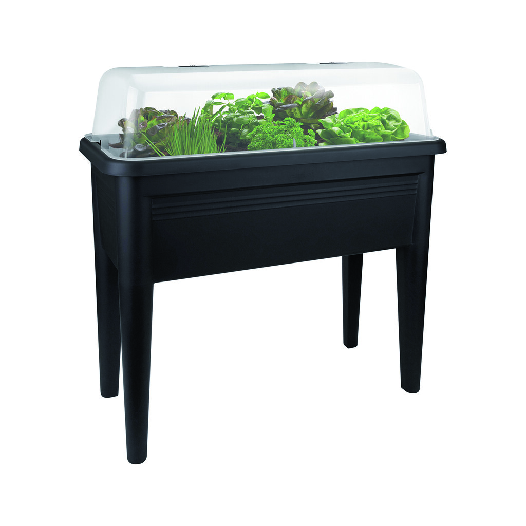 Georgina Ingham | Culinary Travels Photograp: Black Elho Grow Table with Lid. Culinary Travels Giveaway