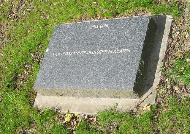 Langemark War Cemetery Grave
