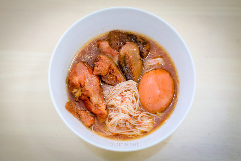 Fuzhou Red Wine Chicken mee suah