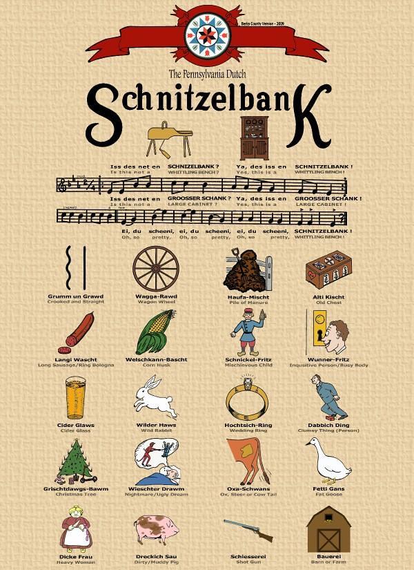 Schnitzelbank-penna-dutch