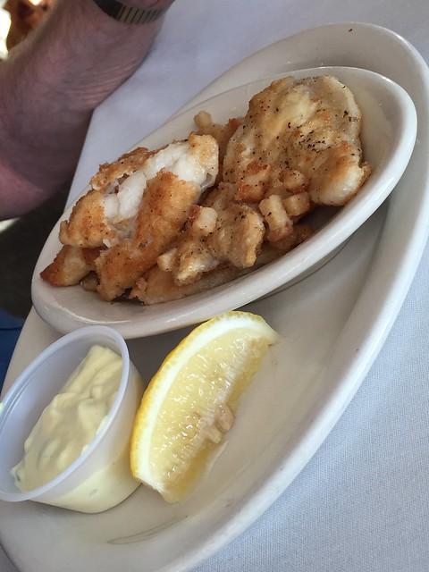 Cod Tongues With Scrunchions