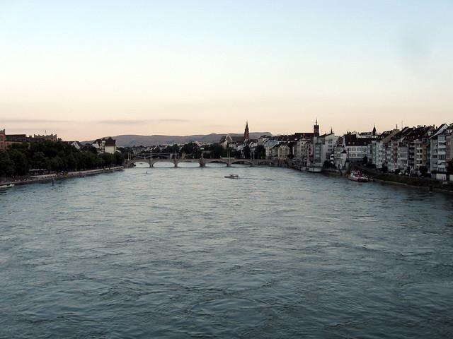 Auf der Johanniterbrücke