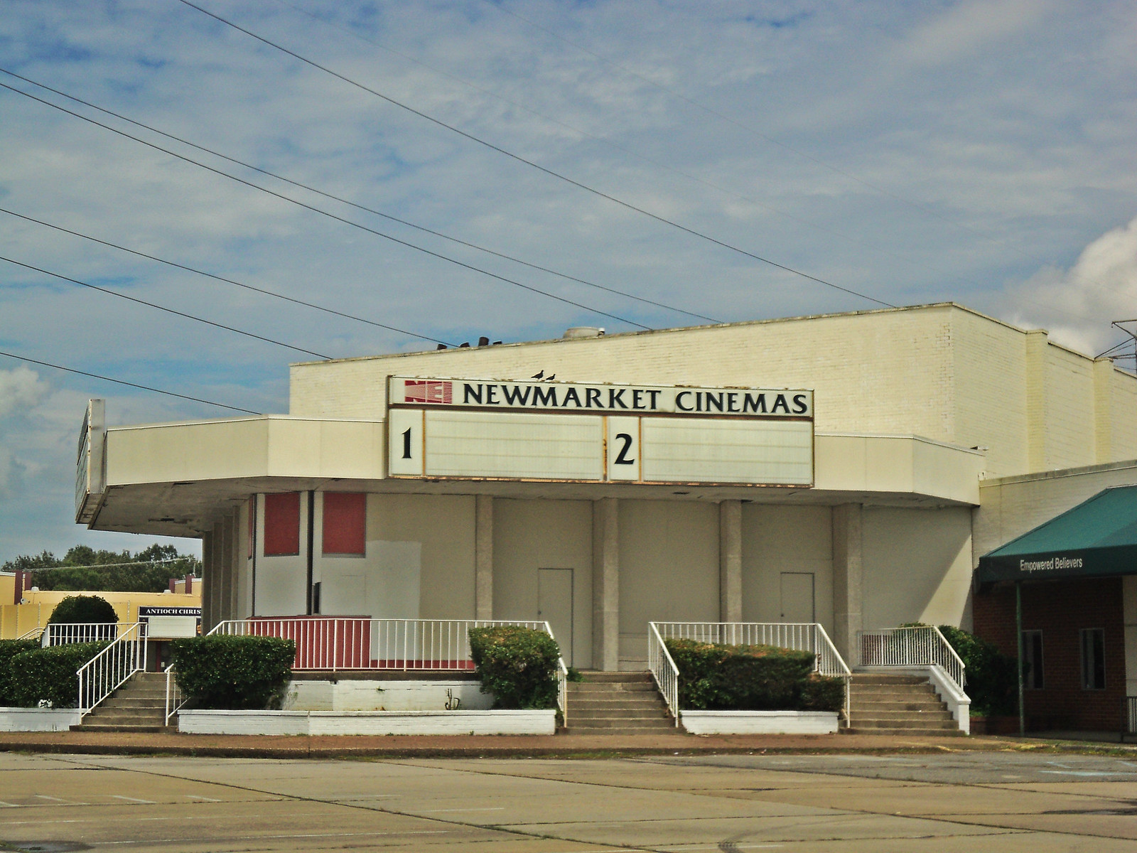 Former New Market Cinemas -- Newport-News, VA