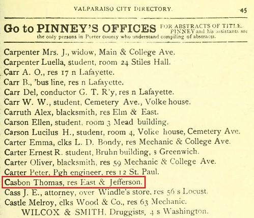 1885 Valparaiso Directory