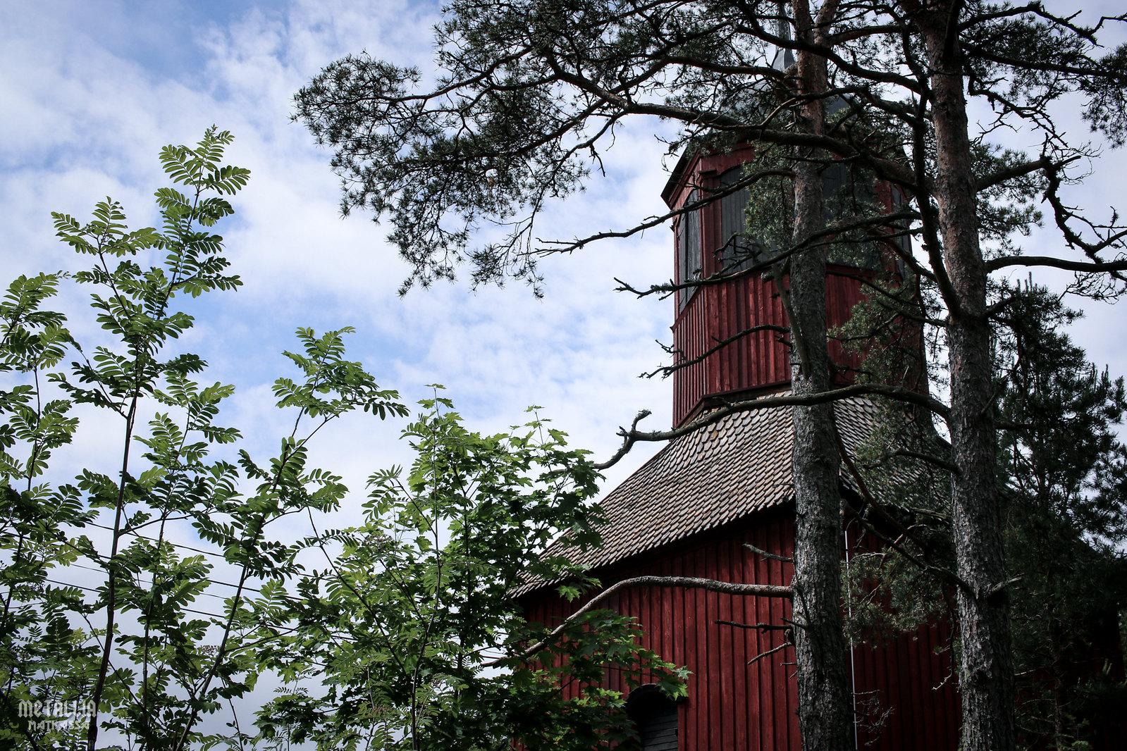 saariston rengastie, nauvo, nauvon kirkkotapuli, nauvon kirkko