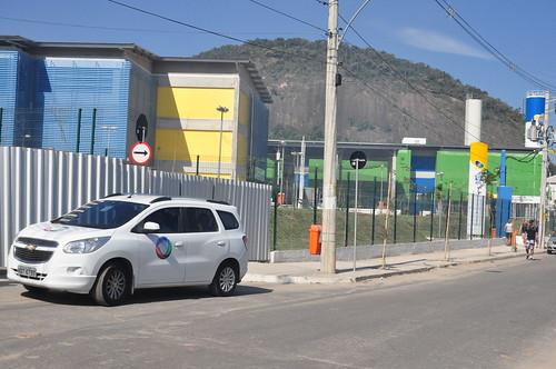 Diretores da Anaspra fazem diligências no alojamento da Força Nacional no Rio